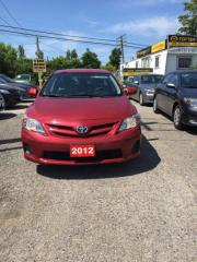 Used 2012 Toyota Corolla FULLY CERTIFIED- UBER DRIVERS WELCOME #1 ECONOMY for sale in Scarborough, ON