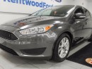 Used 2016 Ford Focus SE- back up cam. Grey is here to stay! for sale in Edmonton, AB