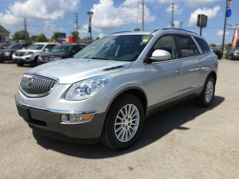 buick motors haims enclave at ft fwd used leather detail