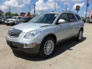 Used 2010 Buick ENCLAVE CXL * LEATHER * SUNROOF * REAR CAM * BLUETOOTH * 7 PASS for sale in London, ON