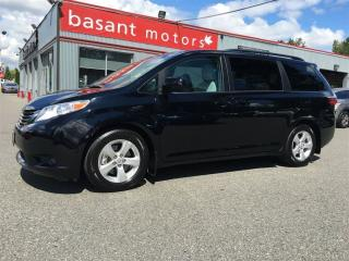 Used 2016 Toyota Sienna Backup Camera, Low KMs, Rear Climate Control! for sale in Surrey, BC