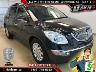 Used 2011 Buick Enclave CXL-AWD, Heated/Cooled Leather, Rear DVD for sale in Lethbridge, AB