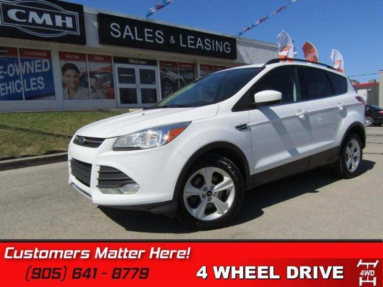 2014 Ford Escape SE   AWD, BLUETOOTH, REAR CAM & SENSORS, HEATED SEATS