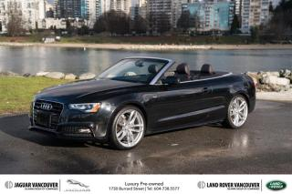 Used 2015 Audi A5 2.0T Technik quattro 8sp Tiptronic Cab *Audi Exclusive Edition! for sale in Vancouver, BC