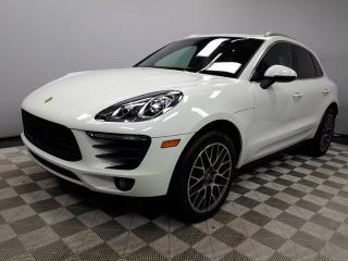 Used 2016 Porsche Macan CERTIFIED PRE-OWNED | Air-susp | PASM | Adaptive Cruise | Premium PLUS for sale in Edmonton, AB