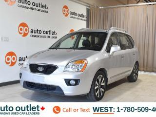 Used 2012 Kia Rondo Ex, 2.4L I4, Third row 8 passenger seating, Leather seats, Heated seats, Sunroof for sale in Edmonton, AB
