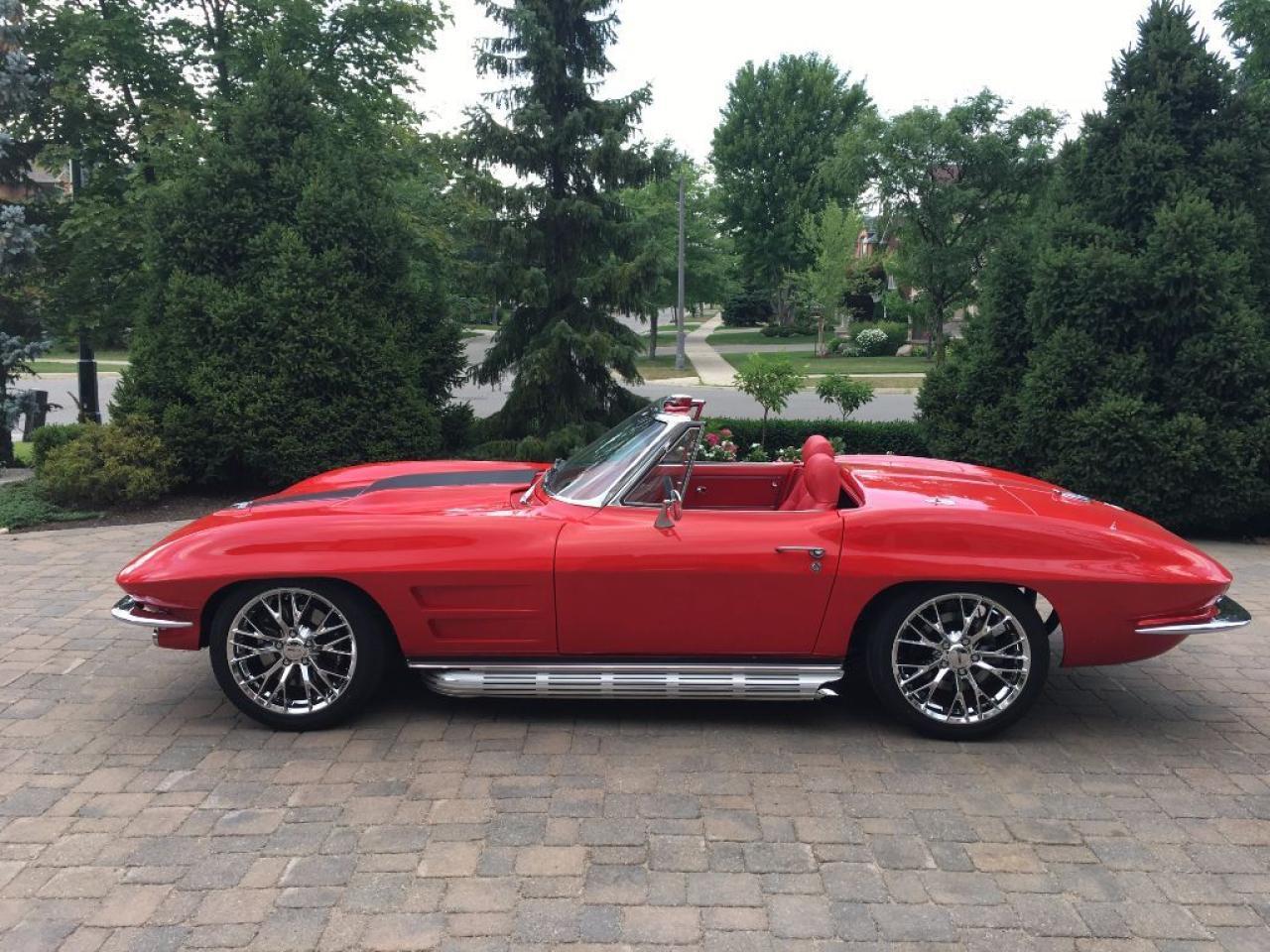 Photo of Red 1964 Chevrolet Corvette RESTOMOD PRO-TOURING STINGRAY