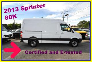 Used 2013 Mercedes-Benz Sprinter High roof. 80K for sale in Aurora, ON