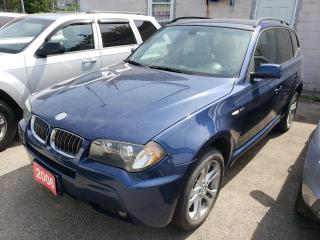 Used 2006 BMW X3 3.0L/M-Sport Package/Leather/Panorama Roof/Alloys for sale in Scarborough, ON
