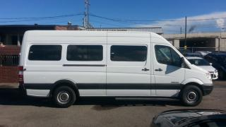 Used 2009 Dodge Sprinter WHEELCHAIR ACCESSIBLE VAN, EX-RED CROSS VAN for sale in North York, ON