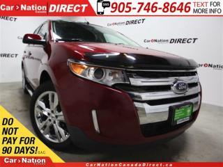 Used 2013 Ford Edge SEL| AWD|NAVI| DUAL SUNROOF| LEATHER| for sale in Burlington, ON