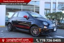 New 2016 Fiat 500 Abarth WITH SATELLITE RADIO, NAVIGATION for sale in Surrey, BC