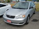 Used 2008 Toyota Corolla CE for sale in Brampton, ON
