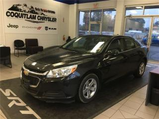Used 2015 Chevrolet Malibu LT for sale in Coquitlam, BC