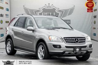 Used 2008 Mercedes-Benz ML-Class 3.0L CDI, AWD, NAVI, BACK-UP CAM, SUNROOF, HEATED SEATS for sale in Toronto, ON