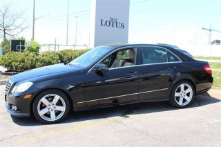 Used 2010 Mercedes-Benz E350 NavigationPremium Pkg for sale in Oakville, ON
