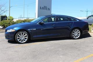 Used 2012 Jaguar XJ 3.99% OAC 5.0L V8 Navigation 19 inch wheels for sale in Oakville, ON
