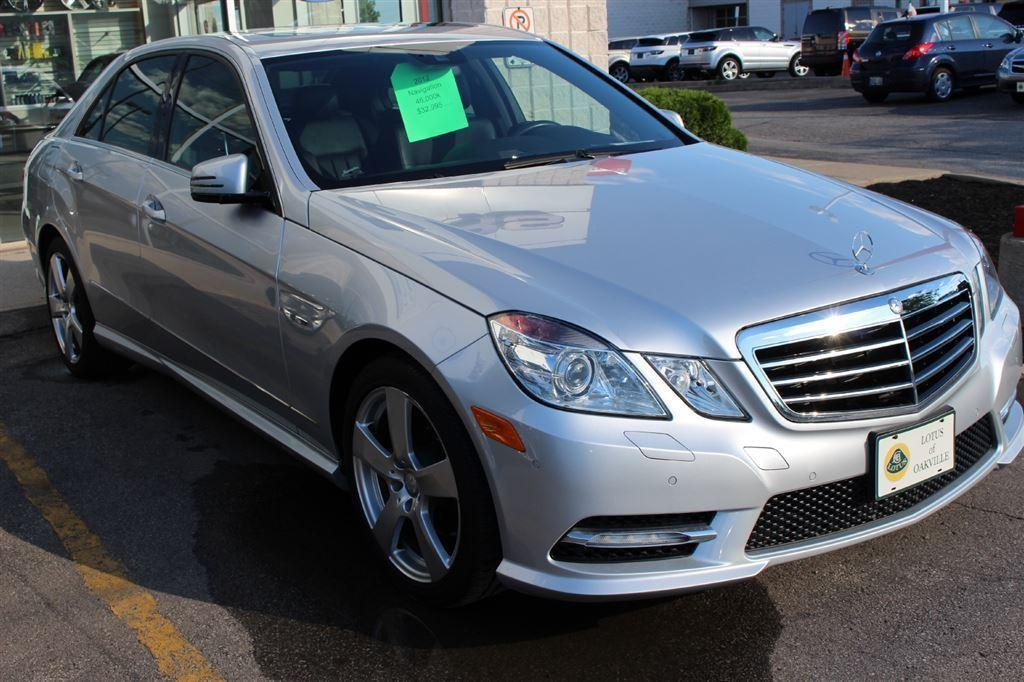 Used 2012 mercedes benz e class 46 000km awd nav for 99 mercedes benz e320