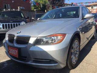 Used 2007 BMW 3 Series 3.0L/335i Twin Turbo Automatic Leather Sunroof for sale in Scarborough, ON