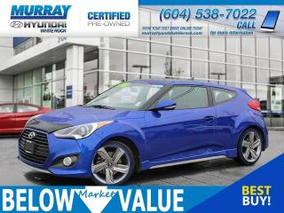 Used 2015 Hyundai Veloster Turbo**NAV**BLUETOOTH**REAR CAMERA** for sale in Surrey, BC