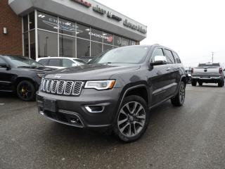 Used 2017 Jeep Grand Cherokee Overland NAVI/DUAL-PANE SUNROOF for sale in Concord, ON