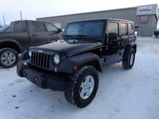 Used 2016 Jeep Wrangler UNLIMITED SPORT for sale in Yellowknife, NT