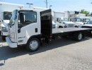 Used 2012 Isuzu NRR Diesel with 20 ft  steel flat deck for sale in Richmond Hill, ON