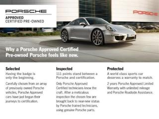 Used 2016 Porsche Panamera 4S  PORSCHE CERTIFIED for sale in Vancouver, BC