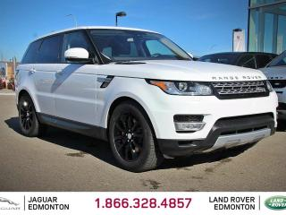 Used 2016 Land Rover Range Rover Sport V8 Supercharged - CPO 6yr/160000kms manufacturer warranty included until October 20, 2022! CPO rates starting at 2.9%! Local One Owner Trade In | No Accidents | 3M Protection Applied | Navigation | Back Up Camera | Parking Sensors | Reverse Traffic/ for sale in Edmonton, AB