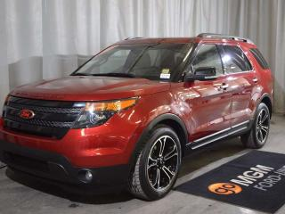 Used 2014 Ford Explorer SPORT for sale in Red Deer, AB
