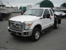 Used 2011 Ford F-350 SD XLT SuperCab Flat Deck Utility Truck 4WD for sale in Burnaby, BC