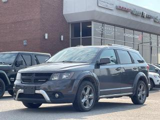 Used 2016 Dodge Journey Crossroad NAVI/SUNROOF/7 PASSENGER for sale in Concord, ON