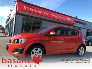 Used 2013 Chevrolet Sonic Fuel Efficient, Hatchback, A/C, Low KMs!! for sale in Surrey, BC