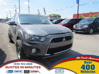 Used 2012 Mitsubishi Outlander LS | AWD |  HEATED SEATS for sale in London, ON