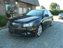 Used 2011 Chevrolet Cruze LTZ Turbo, Leather, Navigation, Moonroof for sale in Ridgetown, ON