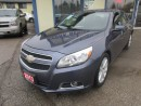 Used 2013 Chevrolet Malibu LOADED LT MODEL 5 PASSENGER 2.5L - DOHC ENGINE.. LEATHER.. HEATED SEATS.. POWER SUNROOF.. BACK-UP CAMERA.. for sale in Bradford, ON