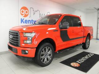 Used 2016 Ford F-150 XLT FX4 off road pkg with keyless entry, power seats and a back up cam for sale in Edmonton, AB