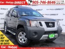 Used 2012 Nissan Xterra S| 4X4| WE WANT YOUR TRADE| OPEN SUNDAY'S| for sale in Burlington, ON