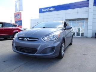 Used 2016 Hyundai Accent L MANUAL/HATCH/AUX/ABS/GREATDEAL for sale in Edmonton, AB