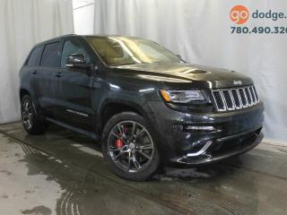 Used 2016 Jeep Grand Cherokee SRT 4x4 / GPS NAVIGATION / REAR BACK UP CAMERA for sale in Edmonton, AB