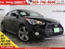 Used 2014 Hyundai Veloster Turbo| NAVI| LEATHER| PANO ROOF| LOW KMS| for sale in Burlington, ON