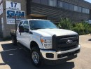 Used 2012 Ford F-350 XL Crew Cab Flat Bed Wood Deck 4X4 Gas for sale in North York, ON