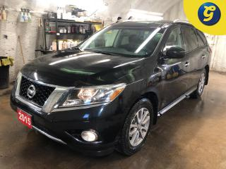 Used 2015 Nissan Pathfinder SV * 4WD * 7 Passenger * Reverse camera with rear assist * Rear power lift gate * Push button start * Triple climate control with rear vents * Phone c for sale in Cambridge, ON