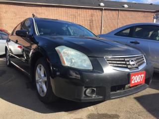 Used 2007 Nissan Maxima Navi Bluetooth Leather Alloys Prox. Key LOADED for sale in Scarborough, ON