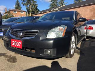 Used 2007 Nissan Maxima 3.5L/Navi Bluetooth Leather Alloys Prox Key LOADED for sale in Scarborough, ON