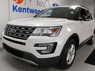 Used 2017 Ford Explorer XLT 4WD, keyless entry, power heated seats, push start/stop, backup cam, NAV for sale in Edmonton, AB