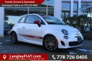 New 2016 Fiat 500 Abarth WITH SUNROOF, BEATS PREMIUM SOUND SYSTEM for sale in Surrey, BC