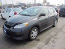 Used 2009 Toyota Matrix HATCHBACK for sale in Hamilton, ON
