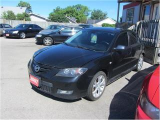 Used 2007 Mazda MAZDA3 GT 2.5L for sale in Hamilton, ON
