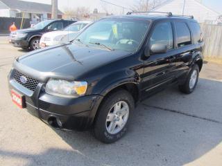 Used 2006 Ford Escape Limited for sale in Hamilton, ON